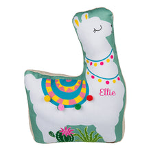 Load image into Gallery viewer, Personalised Green Llama Door Stop