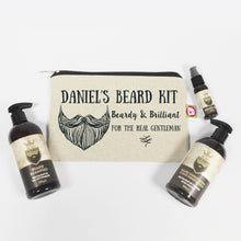 Load image into Gallery viewer, Personalised Beardy & Brilliant Beard Kit