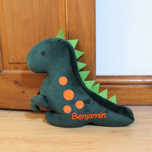 Load image into Gallery viewer, Personalised Dinosaur Doorstop