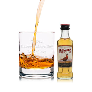 Personalised Famous Grouse & Tumbler Gift Set