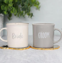 Load image into Gallery viewer, Personalised Bride & Groom Mug Set