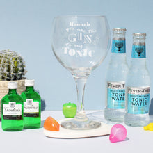 Load image into Gallery viewer, Personalised Gin To My Tonic Gin Set