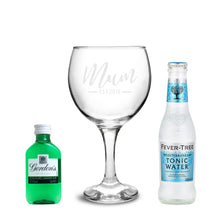 Load image into Gallery viewer, Personalised Est Gin Set