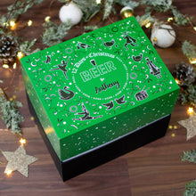 Load image into Gallery viewer, Personalised 12 Days of Christmas Advent Gift Box - Beer