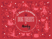 Load image into Gallery viewer, Personalised 12 Days of Christmas Dog Advent Calendar