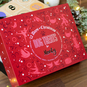Personalised 12 Days of Christmas Dog Advent Calendar