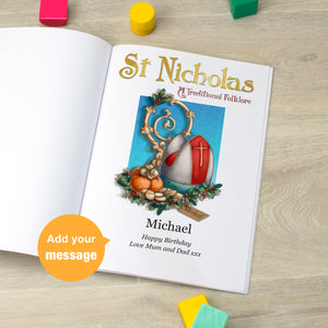 Personalised St Nicholas Folklore Book