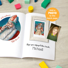 Load image into Gallery viewer, Personalised St Nicholas Folklore Book