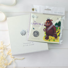 Load image into Gallery viewer, Uncirculated Gruffalo 50p in a personalised gift box