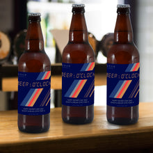 Load image into Gallery viewer, Personalised Beer O'Clock Set Of 3 Beers