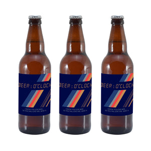 Personalised Beer O'Clock Set Of 3 Beers