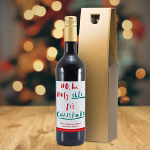 Personalised It's Christmas Mulled Wine