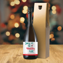Load image into Gallery viewer, Personalised Naughty List Prosecco