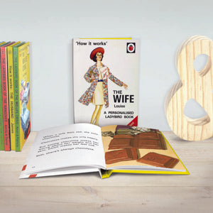 The Wife: A Ladybird Personalised Book