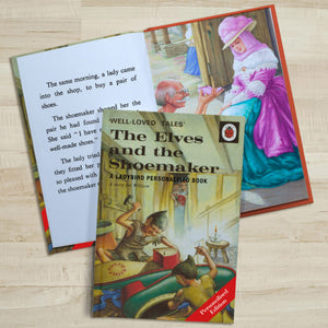 Personalised The Elves and the Shoemaker: A Classic Ladybird Book