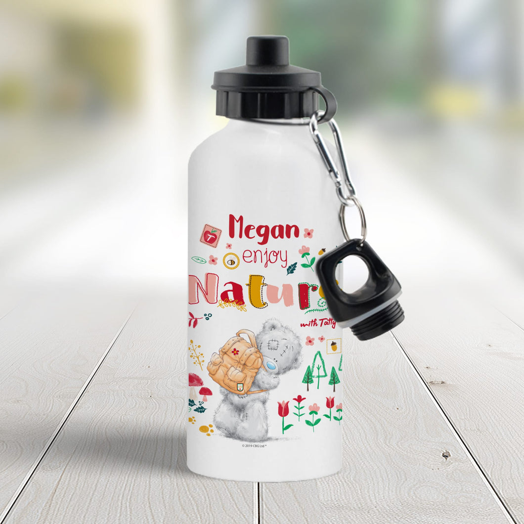 Personalised Me To You Enjoy Nature Sub Bottle