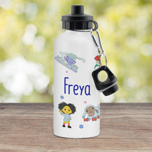Personalised Moon and Me White Drinks Bottle