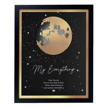Load image into Gallery viewer, Personalised You Are My Sun My Moon Black Framed Print