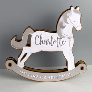 Personalised Make Your Own Rocking Horse 3D Decoration Kit