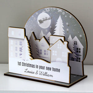Personalised Make Your Own Town 3D Decoration Kit