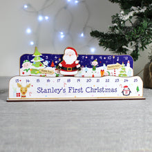 Load image into Gallery viewer, Personalised Make Your Own Santa Christmas Advent Countdown Kit
