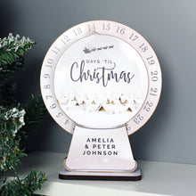 Load image into Gallery viewer, Personalised Make Your Own Christmas Advent Countdown Kit