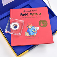 Load image into Gallery viewer, Paddington Bear Silver Royal Mint Collection Box