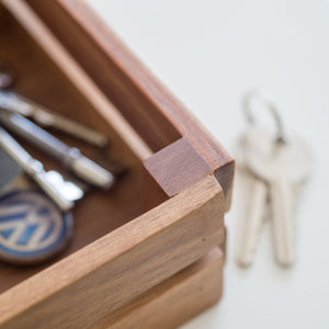 Personalised Wooden Keys Crate