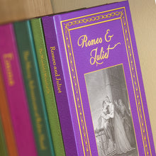 Load image into Gallery viewer, Romeo & Juliet Personalised Hardback Novel