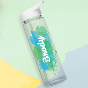 Personalised Splash Water Bottle