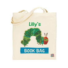 Load image into Gallery viewer, Personalised Very Hungry Caterpillar Tote Bag