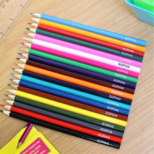 Load image into Gallery viewer, 20 Personalised Colouring Pencils
