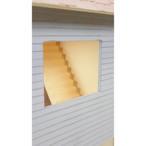 Dollhouse Chalet Shelving Storage Unit