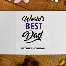 Load image into Gallery viewer, Personalised World's Best Dad Letterbox Sweets