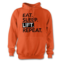 Load image into Gallery viewer, Eat Sleep Lift Repeat Hoodie - Unisex