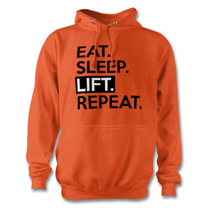 Eat Sleep Lift Repeat Hoodie - Unisex