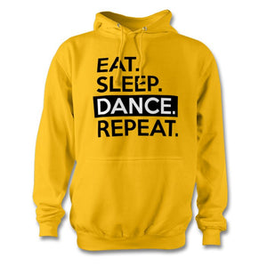 Eat Sleep Dance Repeat Hoodie - Unisex