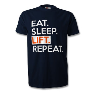 Eat Sleep Lift Repeat T-Shirt - Unisex