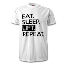 Load image into Gallery viewer, Eat Sleep Lift Repeat T-Shirt - Unisex