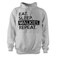 Load image into Gallery viewer, Eat Sleep Walkies Repeat Hoodie - Unisex