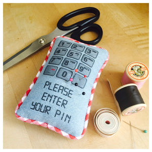 Funny Mobile Phone Pin Cushion