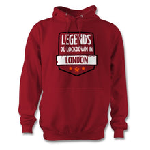 Load image into Gallery viewer, Legends Do Lockdown In Personalised Town Hoodie - Unisex