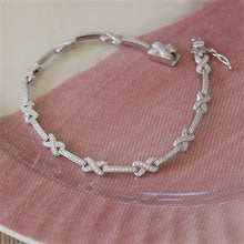 Load image into Gallery viewer, Sterling Silver My Kisses Bracelet