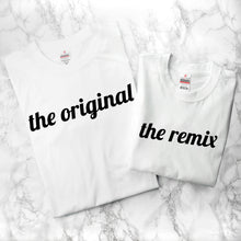 Load image into Gallery viewer, Personalised Daddy & Me Remix T-Shirt Set