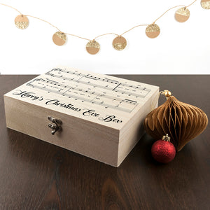 Personalised Wooden Have Yourself A Very Merry Christmas Eve Box