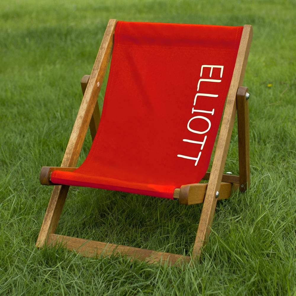 Personalised Child's Deckchair