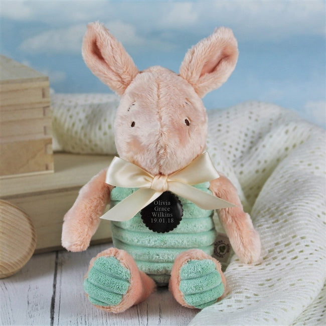 Personalised 20cm Classic Piglet Soft Toy