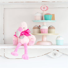 Load image into Gallery viewer, Personalised Fran The Little Flamingo Soft Toy