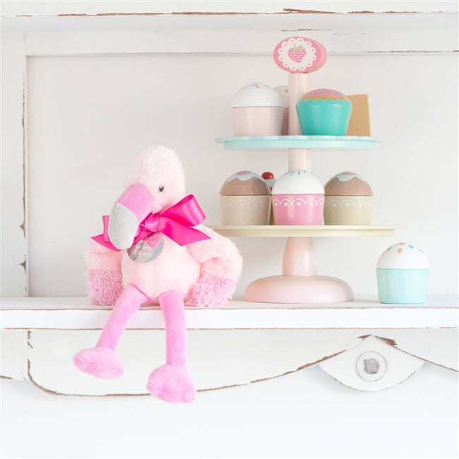 Personalised Fran The Little Flamingo Soft Toy
