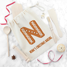 Load image into Gallery viewer, Personalised Kids Christmas Gingerbread Baking Set